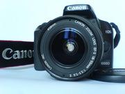 Canon EOS 1000D 18-55 kit + сумка + карта пам'яті