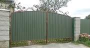 Ворота закрытые профнастилом 3400 грн.