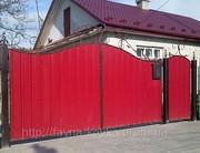 Найдешевші ворота закрытые профнастилом 2800 грн.