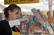 Продавец мороженого Крым