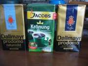 Кофе оптом Jacobs Kronung,  Dallmayr,  Lavazza