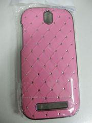 Чехол бампер Diamond со стразами для HTC Desire SV Новинка!