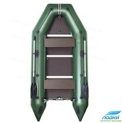 Надувная лодка Kolibri KM-330D моторная   фанерный пайол