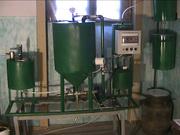 Обладнання для виробництва біодизеля.