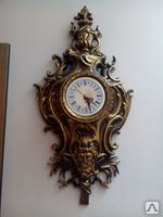 Часы настенные бронза