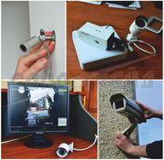 Видеонаблюдение (монтаж видеонаблюдения,  системы безопасности)