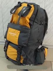 Вместительный туристический рюкзак