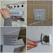 Монтаж электропроводки (проводка кабеля,  электромонтажные работы)