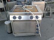 Продам плиту с духовкой ES-T47/1 Kogast бу для кафе