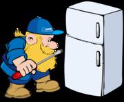 Ремонт холодильника. Заправка фреоном