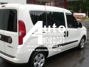 Тонировка автостекол на Fiat Doblo 2010- (Фиат Добло 2010-)