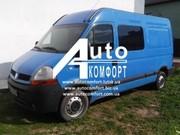Тонировка автостекол на Renault Master,  Opel Movano,  Nissan Interstar