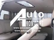 Шторы автомобильные в Volkswagen T4,  Fiat Scudo серые с салазками