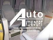 Шторы автомобильные в Renault Trafic серые с салазками