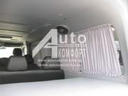 Шторы автомобильные в Mercedes-Benz Sprinter,  Volkswagen Crafter (2006