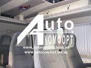 шторы автомобильные в Mercedes-Benz Sprinter Volkswagen Crafter (2006