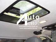 Установка стеклянного автолюка на потолок салона авто