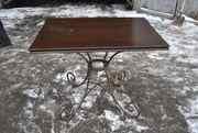 Продам кованые столы для бара бу