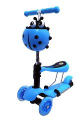 Музыкальный самокат Scooter Micro Mini 80 голубой
