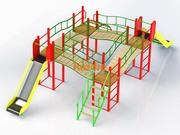 Уличные детские площадки от производителя под ключ