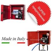МиниАЗС в металлическом ящике ARMADILLO 220В 70л/мин Adam Pumps, Италия