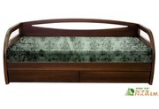 Изготовление кроватей натуральное дерево массив ольха и ясень высокое