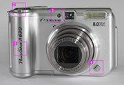 Canon PowerShot A630 у відмінному стані б/у